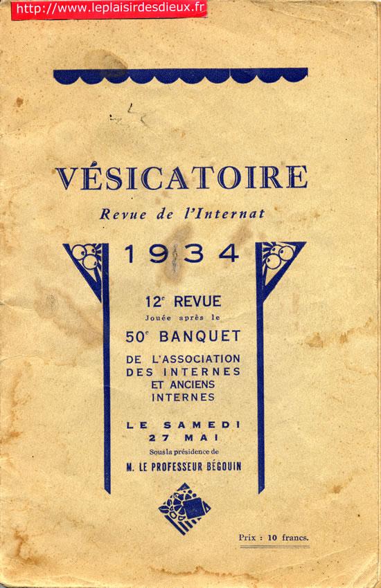 La revue de l 39 internat bordeaux 1934 for Revue de www houseplans com