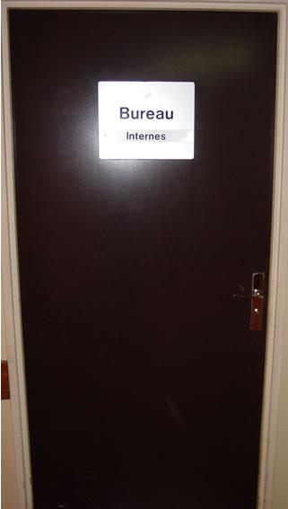 bureau des internes